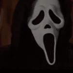 Gyserfilm - her et screenshot fra en Scream film