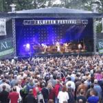 Billede fra store scene til Kløften Festival i Haderslev