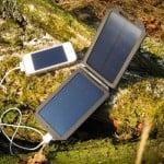 Solcelleoplader til iPhone