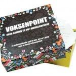 Voksenpoint er en sjovt og underholdende spil, hvor vinderen er den der er mest voksen