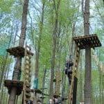 Gorillapark i Svendborg er et sted hvor du kan klatre på krævende baner og få en dag fyldt med action