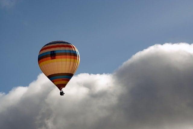 Prøv en tur i en luftballon